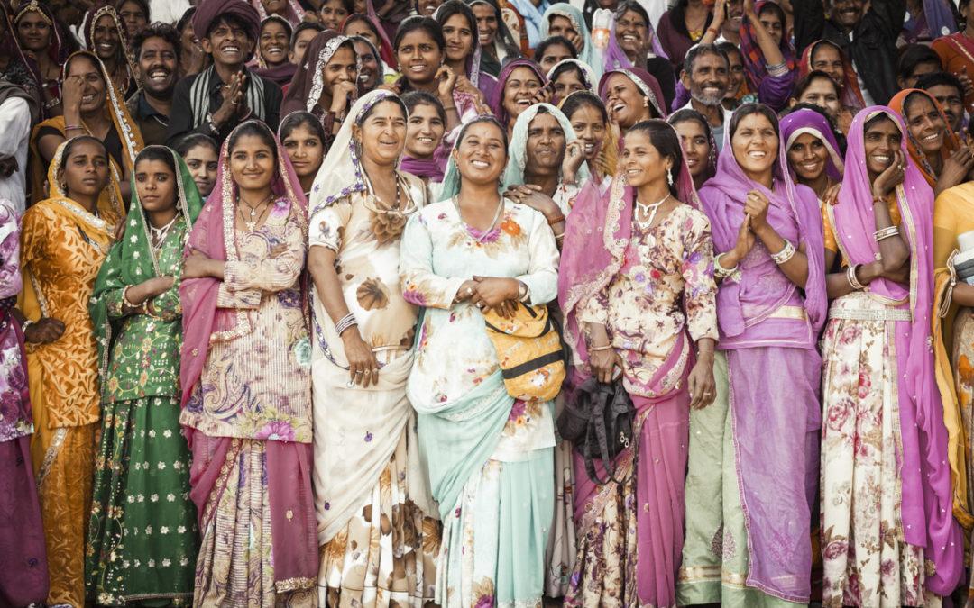 Explosão de cores no encerramento do festival de Pushkar