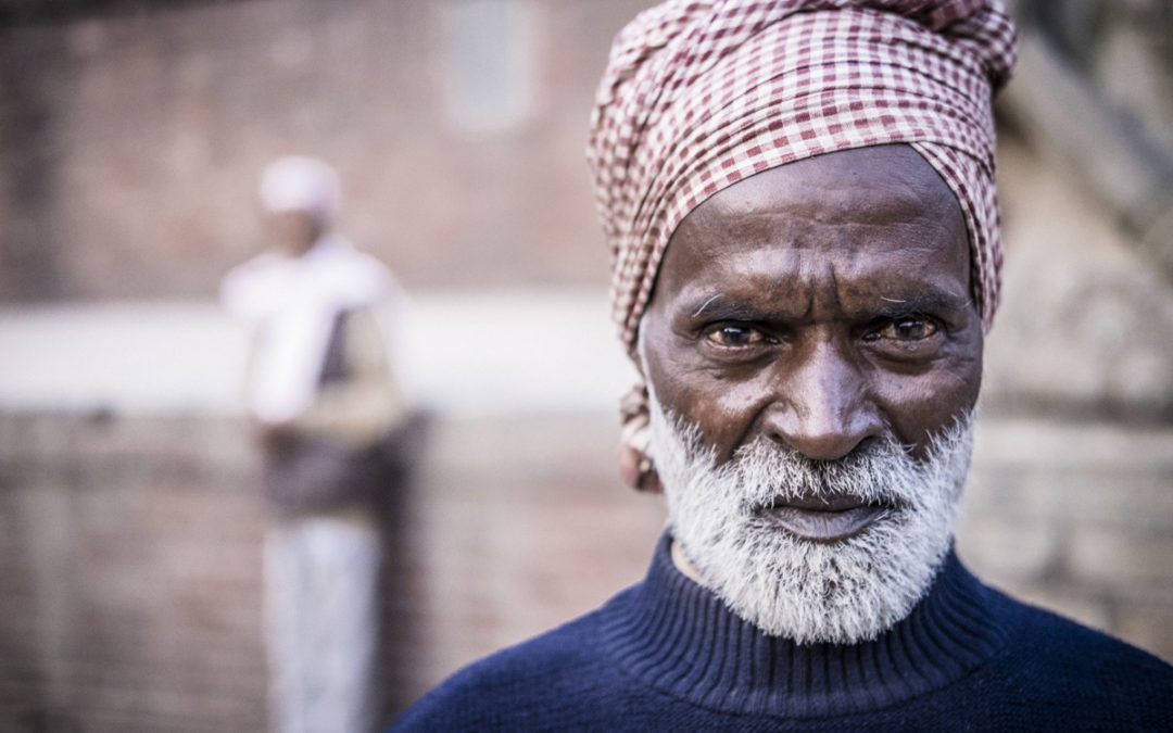 A Newari man in Bhaktapur